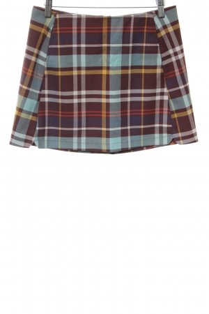 Urban Outfitters Minirock Karomuster Casual-Look