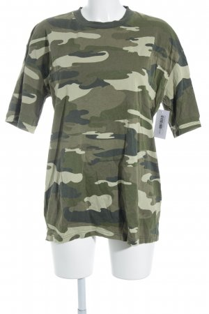 Urban Outfitters Print-Shirt Camouflagemuster Country-Look
