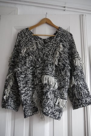 Urban Outfitters Pull oversize noir-blanc
