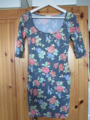 Urban Outfitters Silence + Noise bodycon Kleid floral Blumen Gr. S