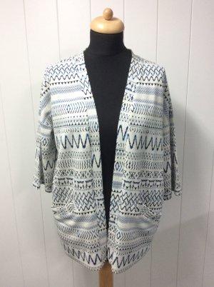 Urban Outfitters Veste longue multicolore coton