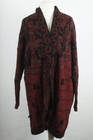 Urban Outfitters 'Staring at stars' Strickjacke Cardigan Gr. XS  schwarz rot oversized