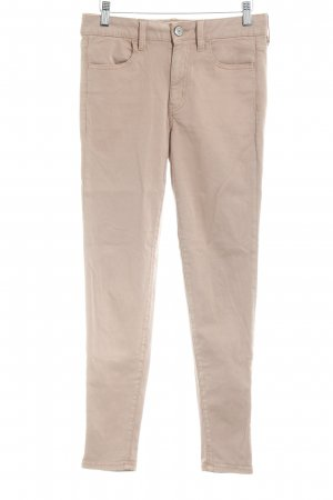 Urban Outfitters Pantalon strech vieux rose style simple