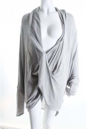 Urban Outfitters Strickpullover hellgrau Casual-Look