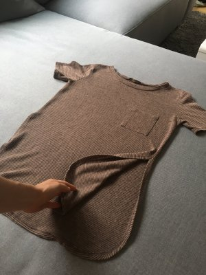 Urban Outfitters Chemise à manches courtes bronze