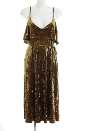 Urban Outfitters Trägerkleid goldfarben Elegant