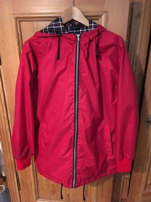 Sparkle & Fade Veste à capuche rouge-rouge brique coton