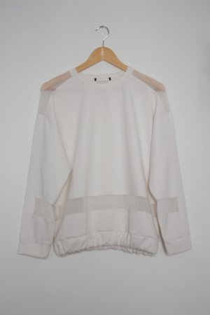 Urban Outfitters Oversized trui wit