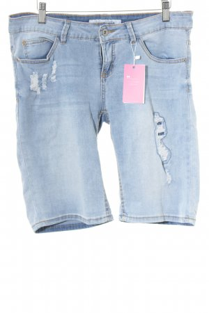 Urban Surface Jeansshorts himmelblau meliert Casual-Look