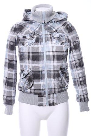 Urban Surface Between-Seasons Jacket check pattern casual look