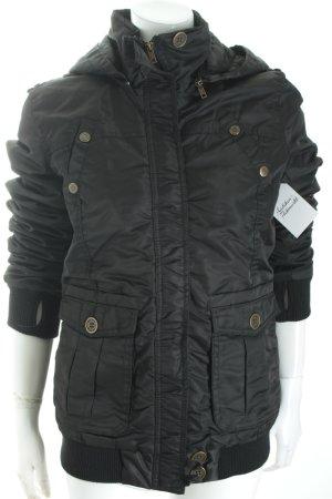 Urban Surface Winterjacke schwarz sportlicher Stil