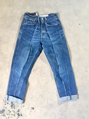 Urbanoutfitter Customized Levi's 501 Jeans