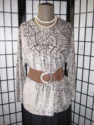 Edles Shirt/Pullover   Exklusives Gewebe    *Ausbrenner-Samt *