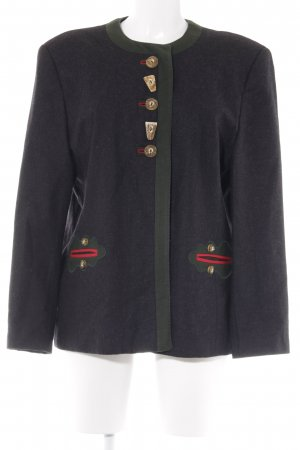 Ursl Trachten Traditional Jacket anthracite-forest green country style