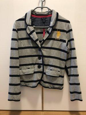 U.s. polo assn. Sweat Blazer light grey-dark blue