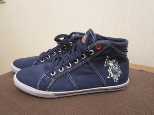 US Polo Assn. Sneaker in blau, Gr. 37