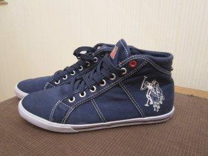 US Polo Assn. Sneaker in blau, Gr. 37