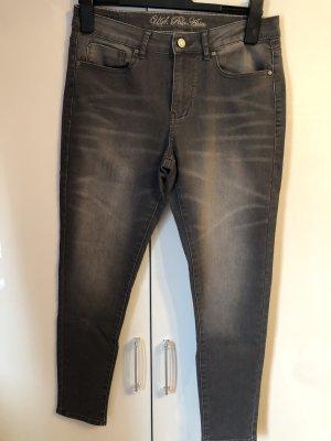 US Polo Jeans grau, schwarz, 40!
