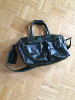 Used grüne Cowboys Bag