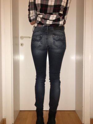 Used-Look Jeans