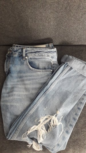 Used Look Jeans- weit