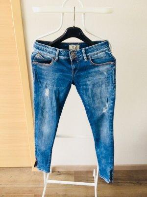LTB Low Rise Jeans cornflower blue-steel blue
