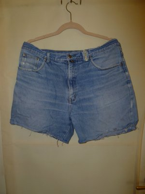 Used-look Jeansshorts