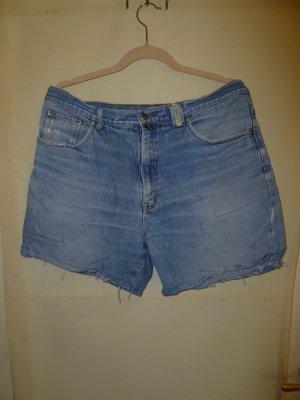 Pantalón corto de tela vaquera azul aciano