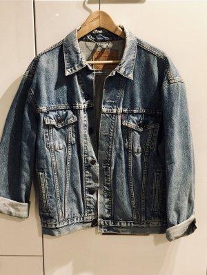 Used-Look Oversize Levi's Jeans-Jacke