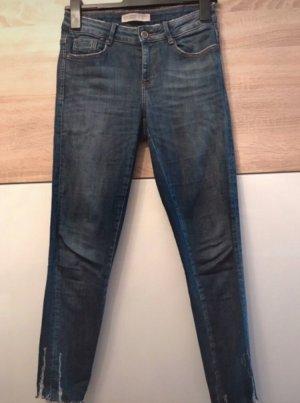 Used look skinny jeans