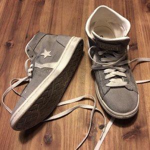 Used-Look-Sneaker, Converse Con, grau