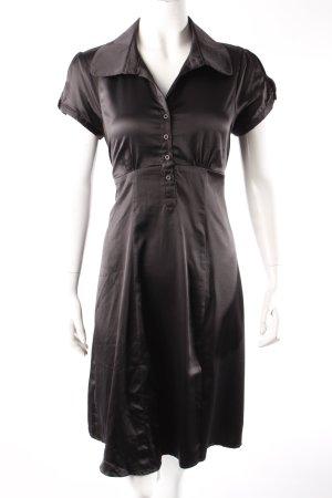 Usha Blusenkleid schwarz
