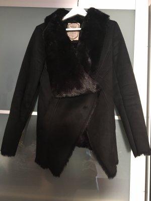 Usha Chaqueta de piel negro