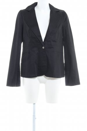 Usha Kurz-Blazer schwarz Business-Look