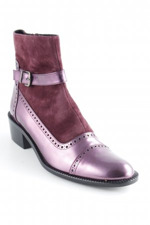 Uta Raasch Ankle Boots violett Country-Look