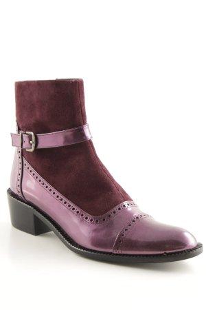 Uta Raasch Booties violett Casual-Look