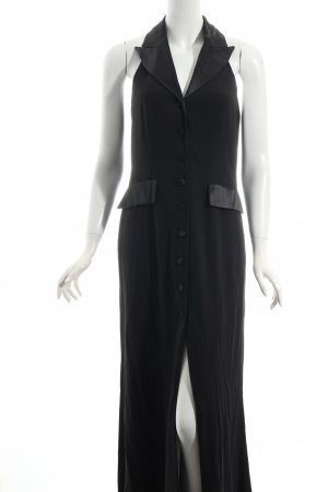 Uta Raasch Neckholderkleid schwarz klassischer Stil