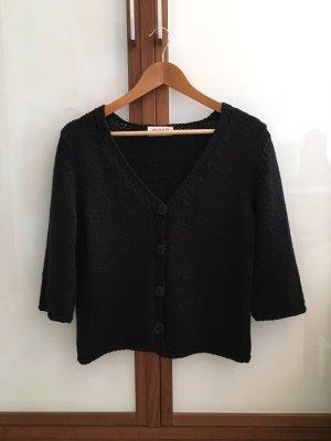 Uta Raasch Veste tricotée en grosses mailles noir