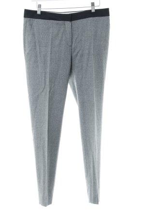Uterqüe Pantalon de costume gris-gris clair moucheté style d'affaires