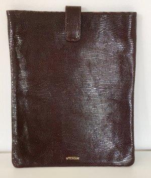 Uterqüe iPad-Hülle aus Leder