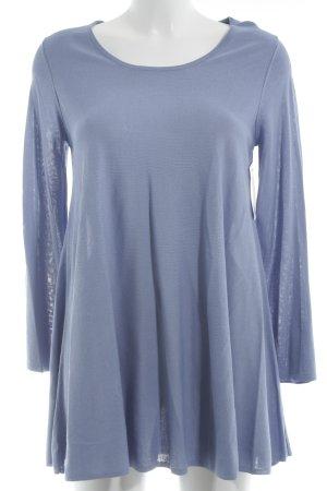 Uterqüe Long Sweater azure casual look
