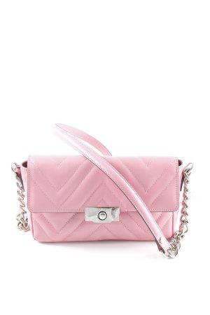 Uterqüe Schultertasche rosa Elegant