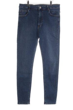 Uterqüe Skinny Jeans blau Casual-Look