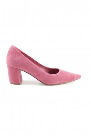 Uterqüe Spitz-Pumps pink Business-Look