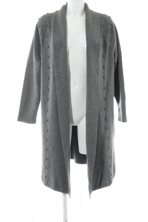 Uterqüe Wool Jacket grey casual look