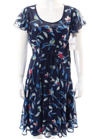 Uttam Boutique Kleid florales Muster klassischer Stil