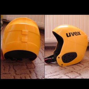 Uvex gelber Skihelm gebraucht Größe S/M guter Zustand