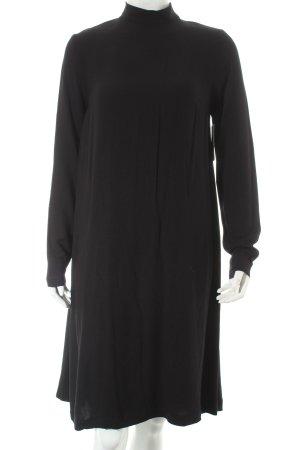 uvr connected Langarmkleid schwarz schlichter Stil