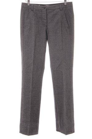uvr connected Wollen broek grijs-zwart zakelijke stijl