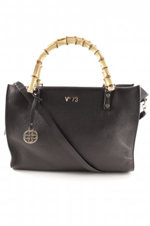 "V°73 Borsetta ""New Venezia Bamboo Leather LL Tote Black"""